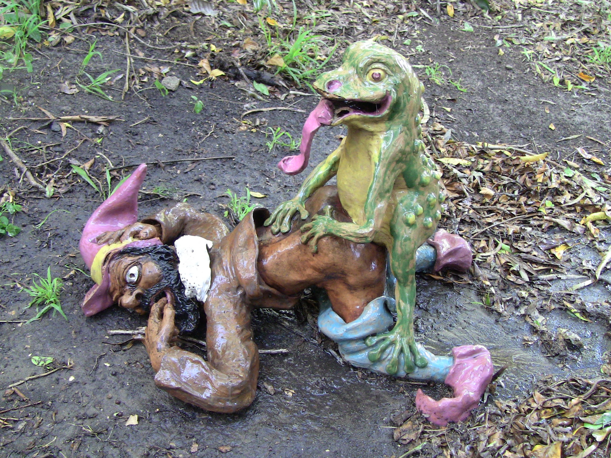 garden gnome sculpture by bill barton - Gnome Garden