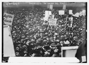 May Day in Union Square 1912